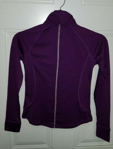 NEW LONG SLEEVE VIOLET, FREE SHIP!