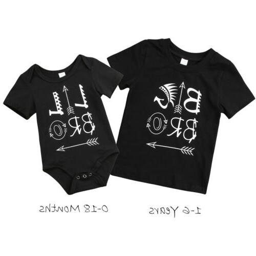 Bodysuit Brother Kids T-shirt Matching Clothes