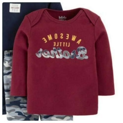 Newborn Carters Mine Baby Boys Outfit