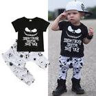 Canis Newborn Kids Baby Boys Nightmare Halloween Tops T-shir