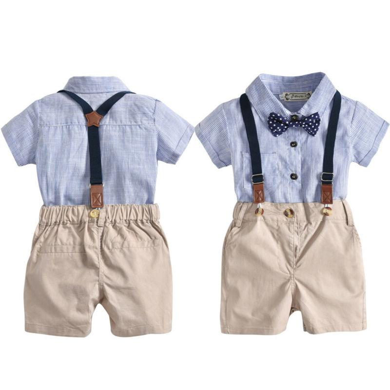 bowtie newborn kids baby boys romper pants