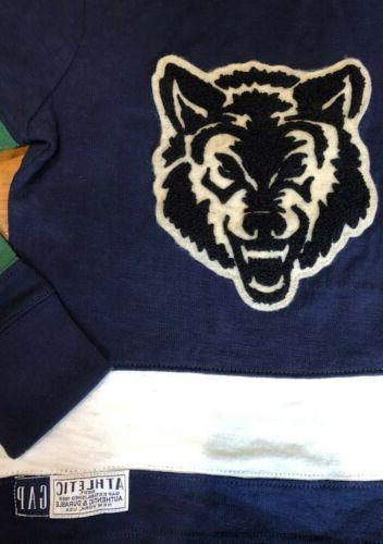 NWT Boys Shirt Wolves pieced jersey u pick size