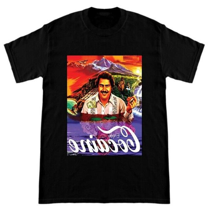 pablo escobar t shirt colombian drug lord