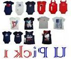 SHIRT BODYSUIT RED WHITE BLUE PATRIOTIC LABOR DAY JULY 4TH G