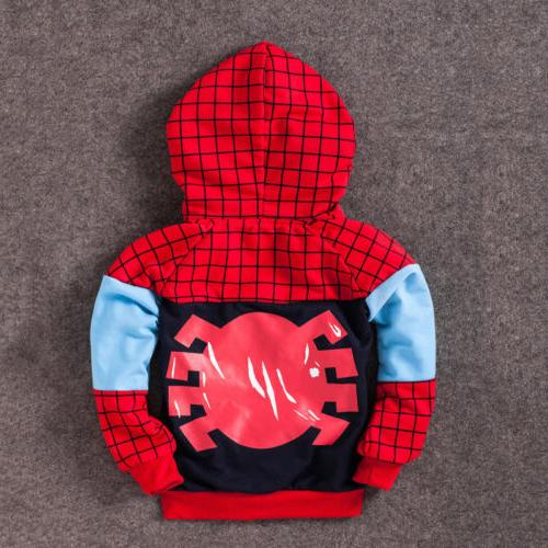 Spiderman Toddler Tracksuit T-Shirt Outfits