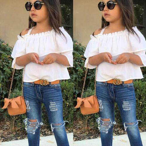 Spring Toddler Outfits Tops Jeans Clothing