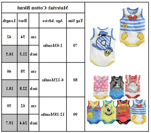 Baby Kid Infant Cartoon Summer Outfit Set
