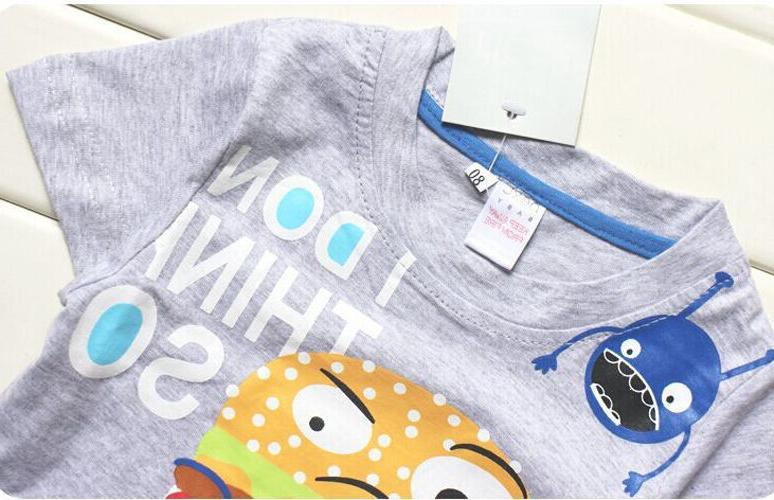 Toddler Boys Clothes Tee + Pants Sets