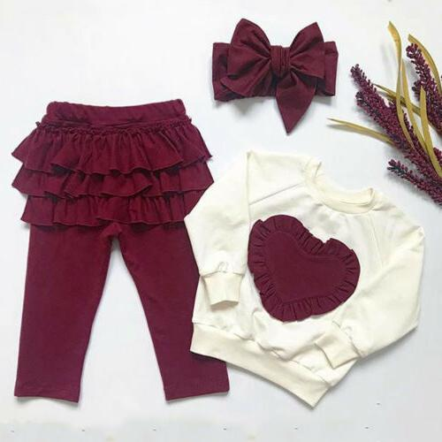 Toddler Baby Kids Clothes Leggings Outfits USA