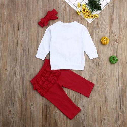Toddler Clothes T-shirt Pants Leggings Outfits USA