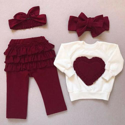toddler baby kids girl clothes top t