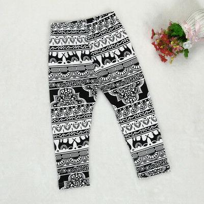 Toddler Clothes Pants Leggings Headband 3PCS Outfits