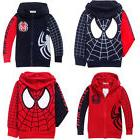 Toddler Boys Kids Marvel Spiderman Sweatshirt Hoodies Hooded