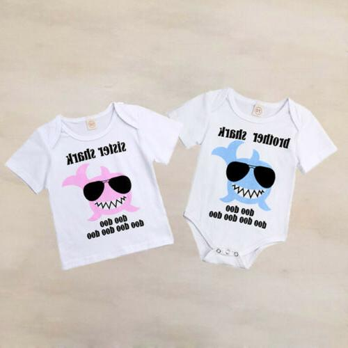 USA Matching Kid Bodysuit Romper T-shirt Outfits