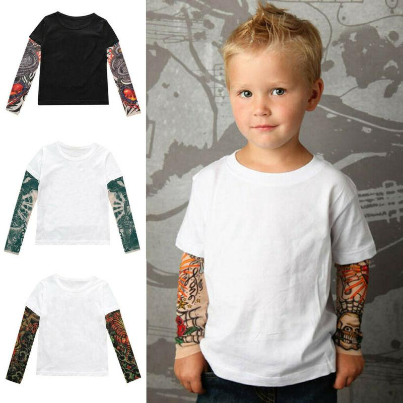 Toddler Girls Sleeve T-shirt Tops Tees