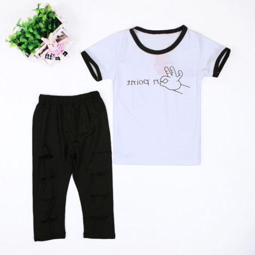 Toddler Kids Baby Girls Outfits