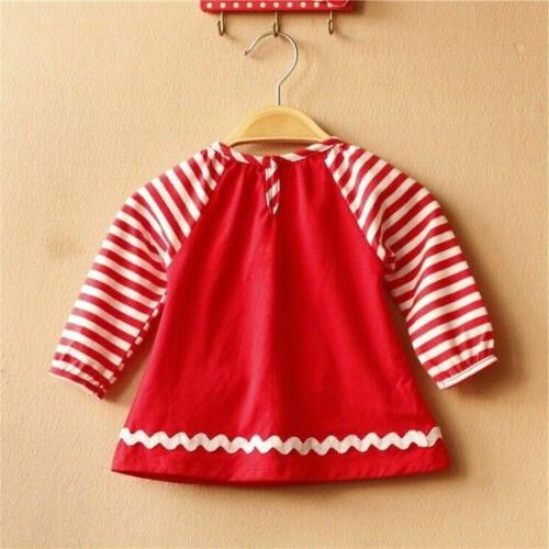 Toddler Xmas Outfits T-Shirt Clothes