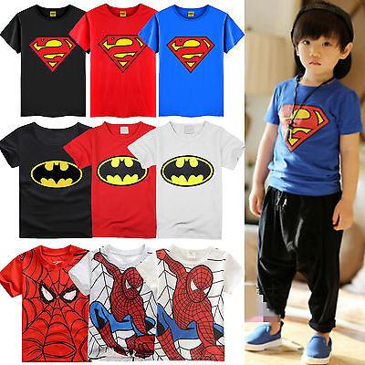 Toddler Kids Sleeve T-shirt Spiderman