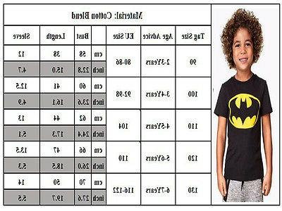Toddler Kids Short Sleeve T-shirt Child Spiderman Tops
