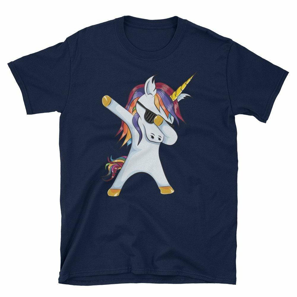 Unicorn Cute Dab Gift Men, T-Shirt