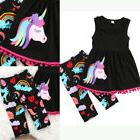 us stock unicorn kids baby girl outfit