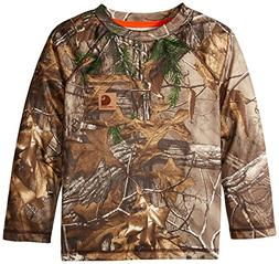Carhartt Little Boys' Force Camo Raglan Tee, Realtree Xtra,