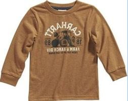LONG SLEEVE FARM AND RANCH LONG SLEEVE T-SHIRT CARHARTT SIZE