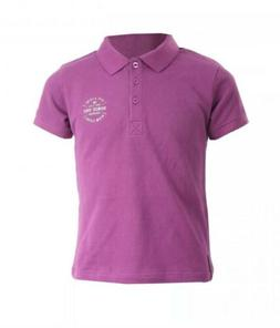NEW HORZE JUNIOR HOLLY CHILDREN'S POLO SHIRT, ORCHID PURPLE,