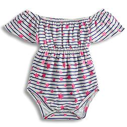 BFUSTYLE Newborn Infant Off Shoulder Little Girls Niece Romp