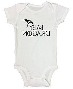"Newborn Onesie Game of Thrones Kids Shirt ""Baby Dragon"""