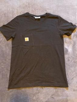 NWT Carhartt Boys Pocket T-Shirt Medium Black