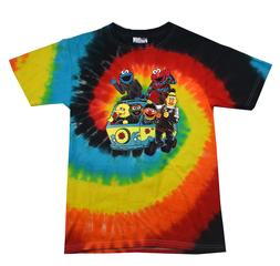 Sesame Street T-Shirt Tie Dye FUNNY ASSORTED COLORS Cute Kid