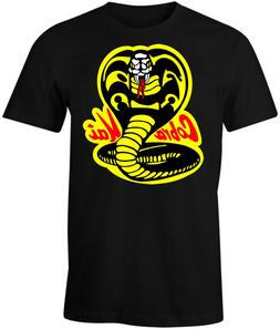 Cobra Kai Shirt T-Shirt Karate Kid Decal Patch Costume Gear