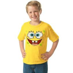 SpongeBob Face Youth Kids T-Shirt