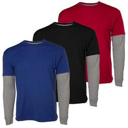Hanes Tagless Long Sleeve T Shirt For Boys Kids Premium 2-To
