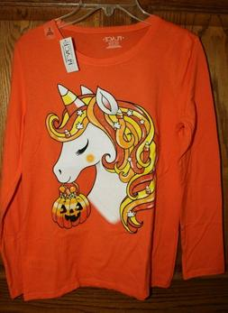 The Children's Place Candy Corn Unicorn,Knit Top,T Shirt Hal