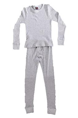 At The Buzzer Thermal Underwear Set for Boys 95362-Grey-10/1