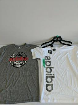 Youth Adidas 2 Pack Active T Shirts Dri-Fit Size XL 18/20 Gr