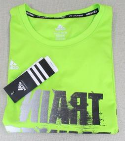 ADIDAS Youth Boy's Climalite Performance Athletic Tee T-Shir