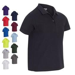 Gildan Youth Kids Boys Polo DryBlend Double Pique Sport Shir