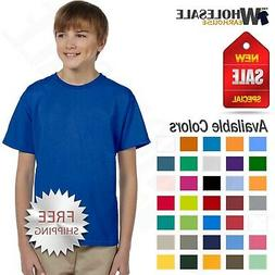 Gildan Youth Short Sleeves 100 % Ultra Heavy Cotton Kids T-S