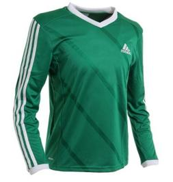 Adidas Youth Tabela 14 Training Soccer Climalite L/S Green K