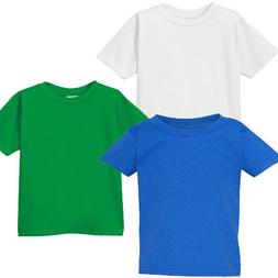 GILDAN YOUTH Tee 100% Cotton Girls Boys Kids T-Shirt Size X-